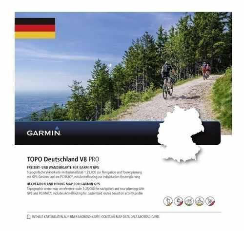 Mapa Garmin Topo Germany Descargable