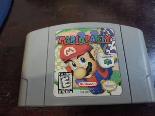 Mario Party N64 Nintendo 64 Eg