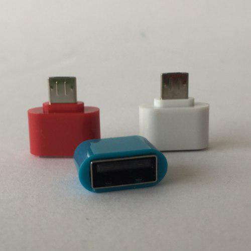 Mini Adaptador Otg Micro Usb V8 A Usb