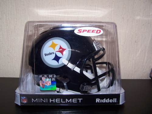 Nfl Mini Casco Speed Pittsburgh Steelers Riddell