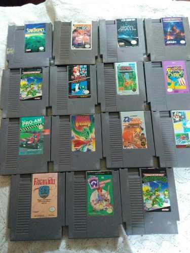 Paquete De 15 Juegos De Nintendo (ramson,xexyz,turtles,mario