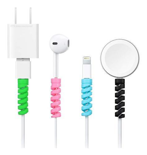 Protector De Silicona Para Cable Usb Para iPhone Samsung