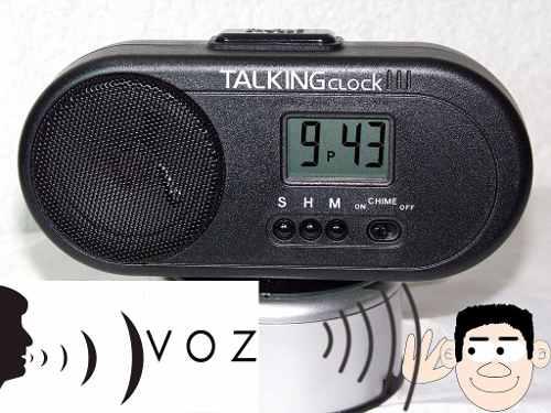 Reloj Despertador Parlante Da La Hr Hablando En Español