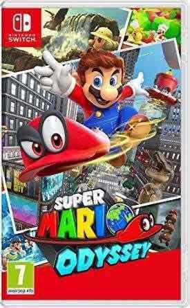 Super Mario Odyssey - Juego Para Nintendo Switch