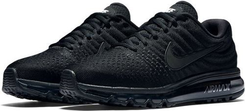 Tenis Hombre Nike Air Max 360 Triple Black Running Correr