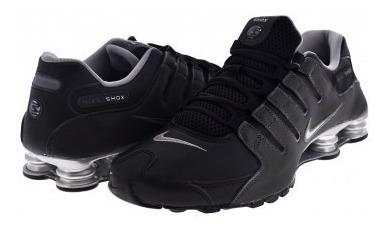 Tenis Nike  Black/reflect Silver-anthrct Shox Nz E