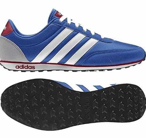 Tenis adidas V Racer Azul/blanco - Aw