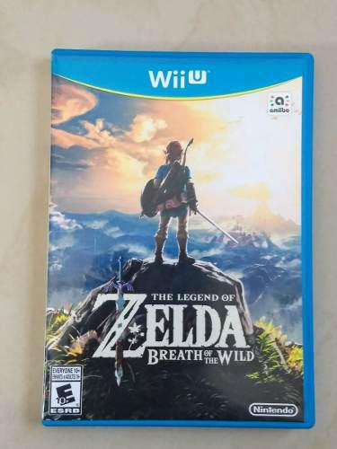 The Legend Of Zelda, Breath Of The Wild Juegos Wii U Usado