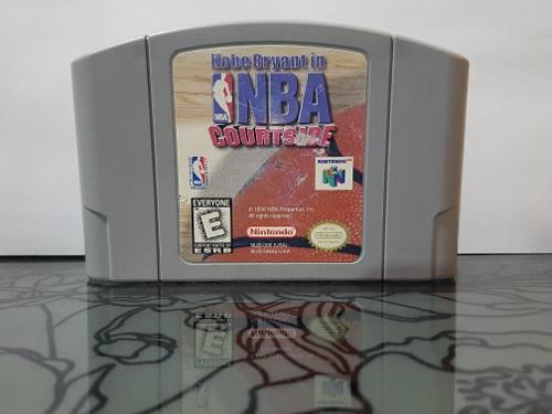 Video Juego Kobe Bryant In Nba Courtside N64 Nintendo