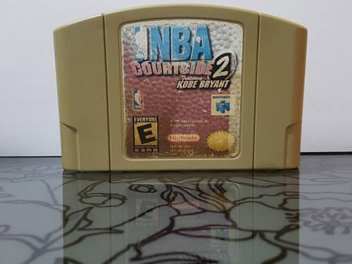 Video Juego Nba Courtside 2 Kobe Bryant Para Nintendo 64