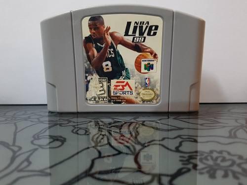 Video Juego Nba Live 99 Para Nintendo 64 N64 Envio Incluido