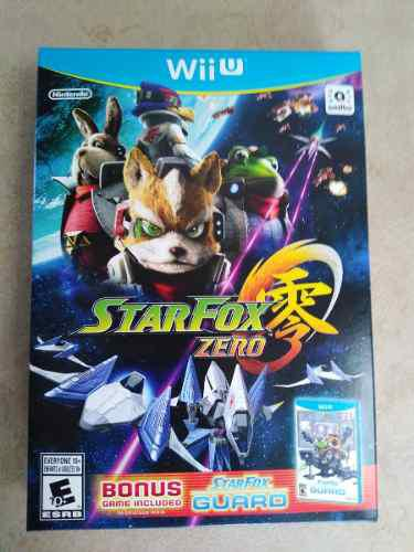 Video Juego Star Fox Zero + Star Fox Guard Wii U