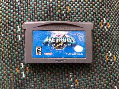 Videojuego Para Game Boy Advance Metroid Fusión Original
