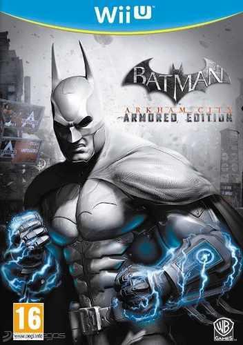 Wii U - Batman Arkham City - Juego Físico (mercado Pago)
