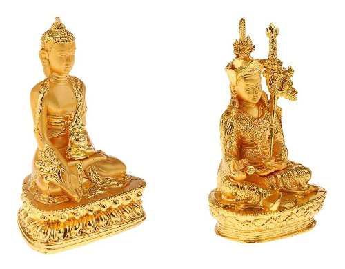 2 Unids Mini Modelo De Buda Budismo Suministros Decoración
