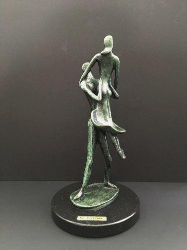 Almanzor. Escultura De Bronce. Firmada Y Seriada