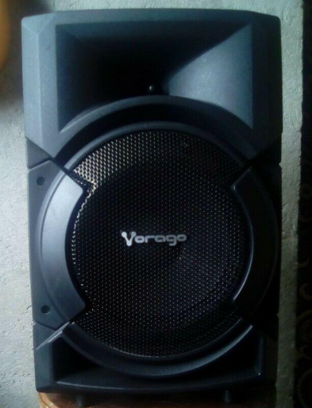 "Bocina Amplificada 8"" (Karaoke Bluetooth)"