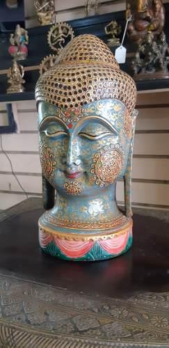 Buda Talla En Madera