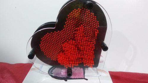 Cama De Clavos Corazón Arte Pin Art 3d