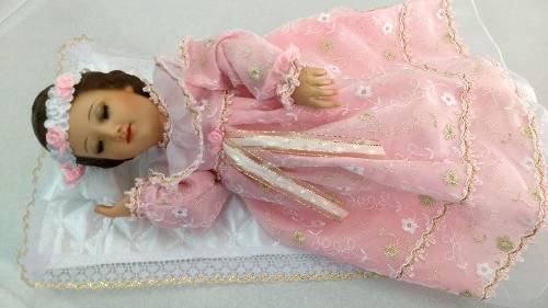 Divina Infantita O Virgen Maria De 40 Cm Dormida