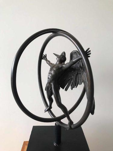 Escultura Bronce Marin