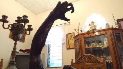 Escultura De Bronce Arte Abstracto Liberación Antigua