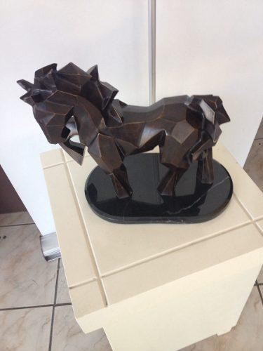 Escultura De Caballo De Bronce Andriacci Replica