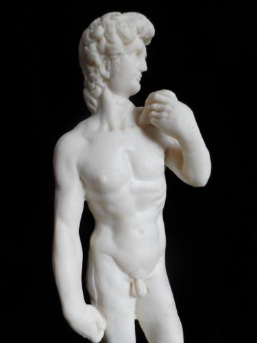 Escultura De David De Miguel Angel Figura Italiana Antigua