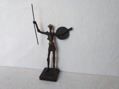 Escultura Don Quijote De La Mancha En Bronce