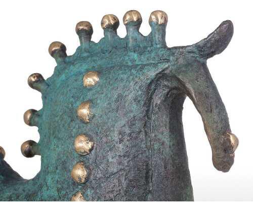 Escultura Exagerativo Caballo De Bronce Caballo Escultura