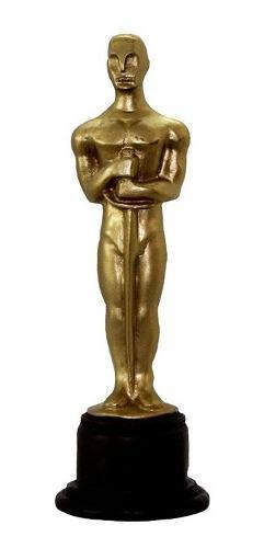 Escultura Oscar Estuatilla, Personalizable Trofeo O Regalo