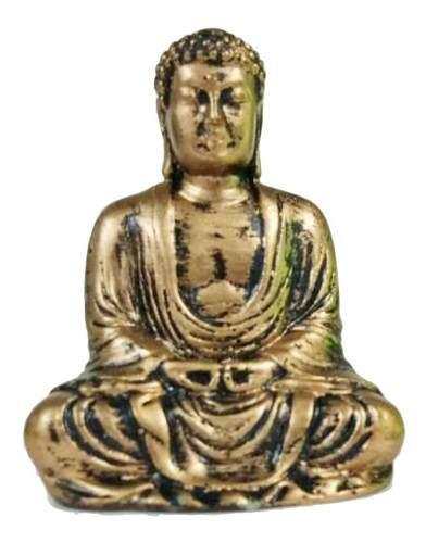 Estatua De Buda De Resina Decoración De Escriotorio - 2.76