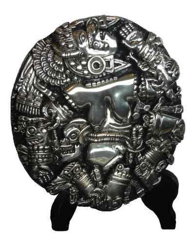 Figura Decorativa Coyolxauhqui D´argenta