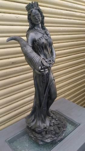 Figura Diosa De La Fortuna Resina