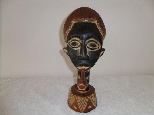 Figura Escultura Arte Africano Tribal Importada De Ghana