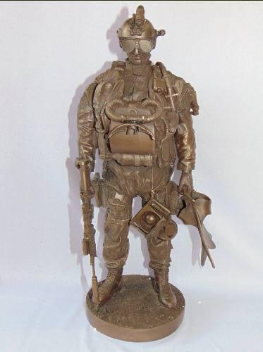 Figura Militar Navy Seal Buzo Envío Gratis