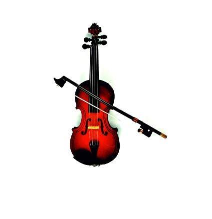 Instrumento Musical De Violín De Madera Realista