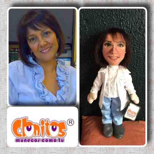 Muñecos Personalizados De Tela Con Tu Cara 100% Hecho A