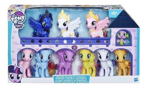 My Little Pony Set 10 Ponys Ultimate Coleccion Equestria