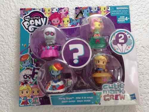 My Little Pony Set Con 5 Personajes Serie 2 Estilo Fiesta