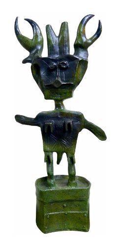 Niño Insecto Escultura Original Bronce De Sergio Hernandez