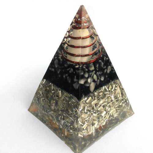 Orgónita En Forma De Pirámide Para Eliminar Radiación