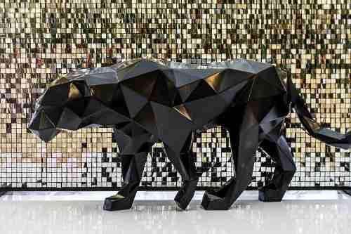 Pantera Negra Papiroflexia/ Origami 3d, Armar Papercraft