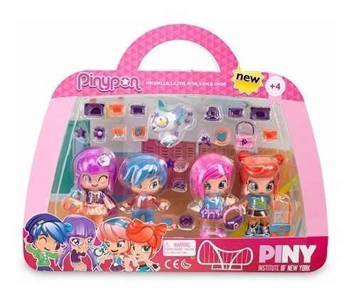Pinypon 4 Pack De Amigas