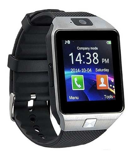 Reloj Celular Smartwatch Dz09 Idioma Español Y Mica