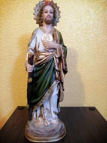 San Judas Tadeo, Resina De 50 Cm.