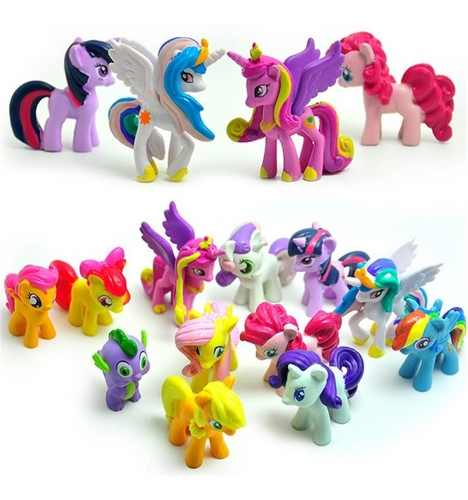 Super Colección My Little Pony Set 12 Pz + Envió Gratis