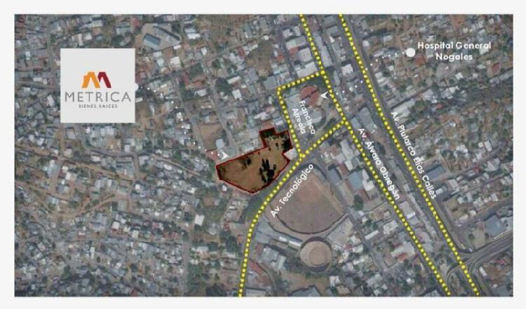 Terreno comercial de 10,000 m2 en NOGALES Sonora centro