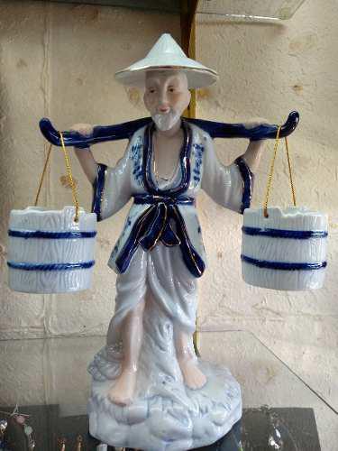 Viejitos De Porcelana 2 Pz