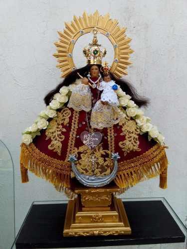 Virgen De Talpa De Madera